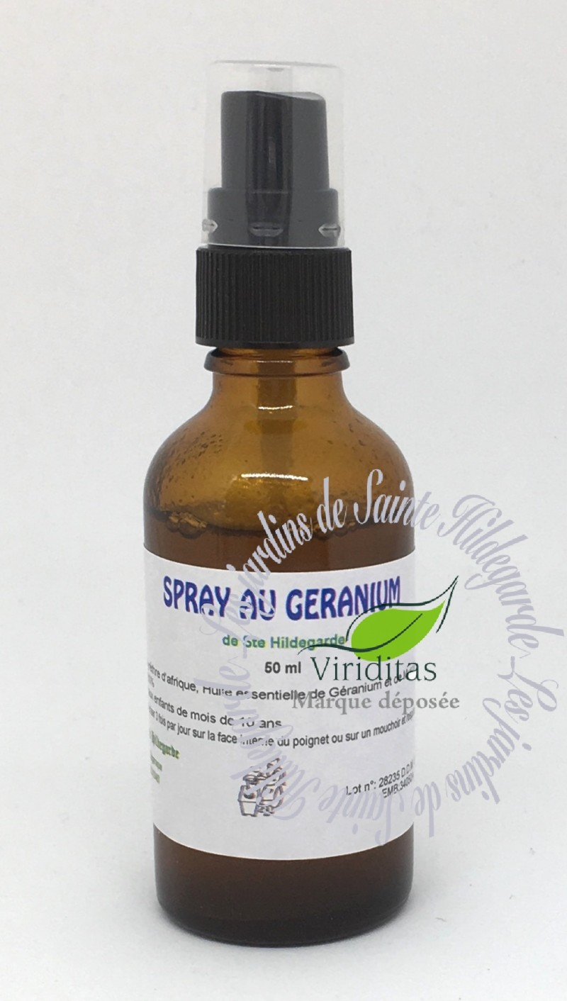 SPRAY au géranium 50ml